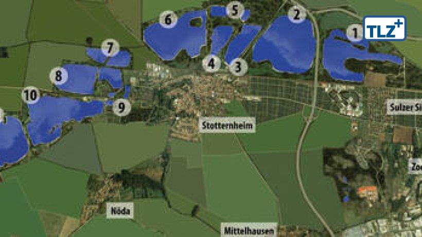 Erfurter Seen attraktiv für die Bundesgartenschau | Erfurt