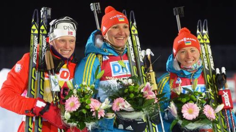 Biathlon Damenmannschaft