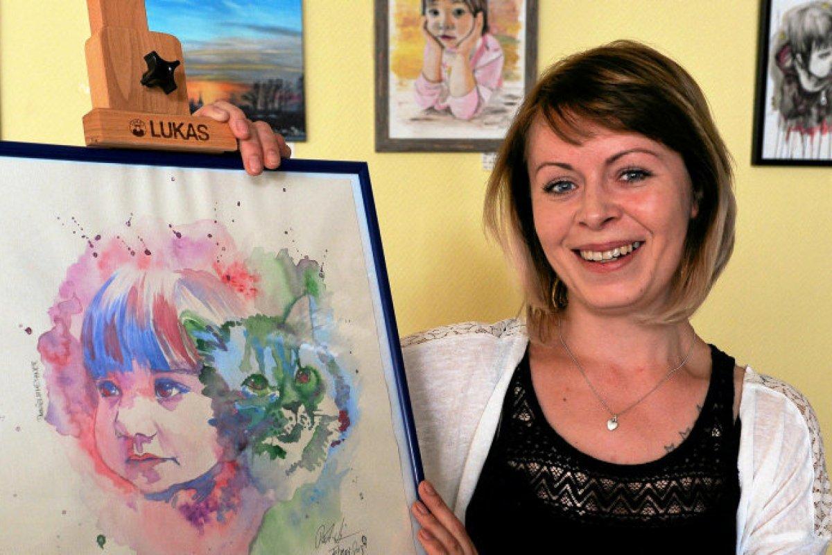 Ein Blick Fur Das Schone Im Leben Hobbykunstlerin In Geraer