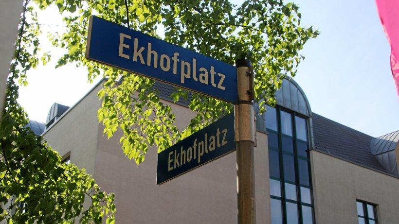 Neues Denkmal am Ekhofplatz in Gotha