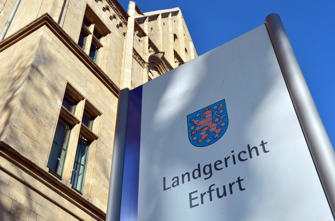 Ein 30-jähriger Zeuge sagte am Dienstag vor der der Schwurgerichtskammer am Landgericht Erfurt aus.