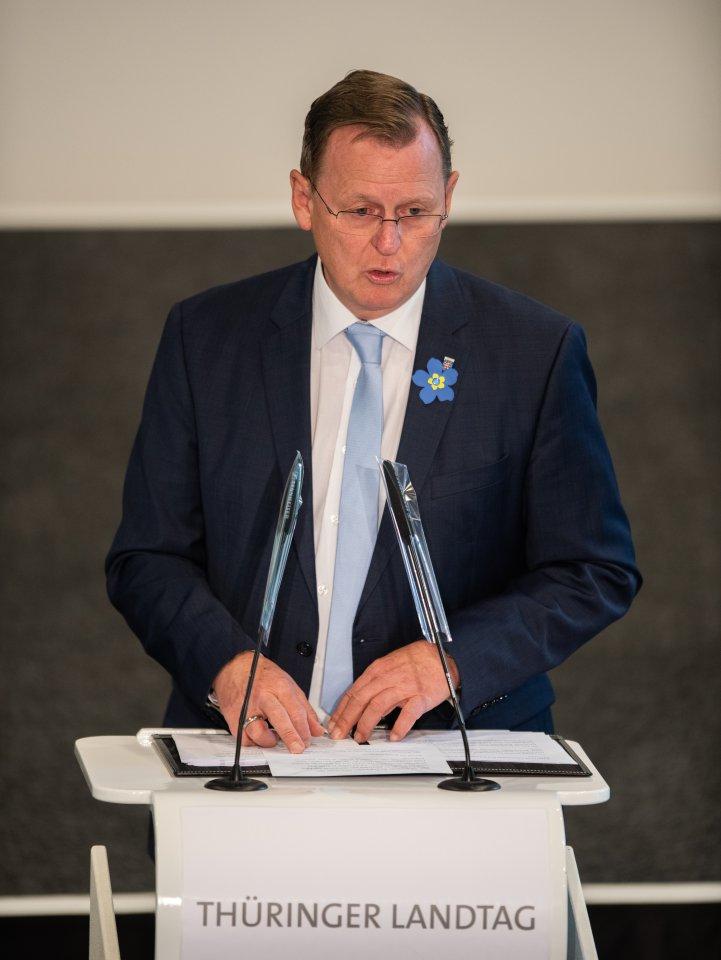 Ministerpräsident Bodo Ramelow (Linke)