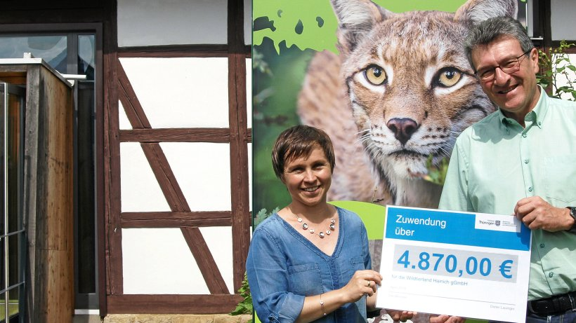 Lottogeld fließt in Wildkatzendorf